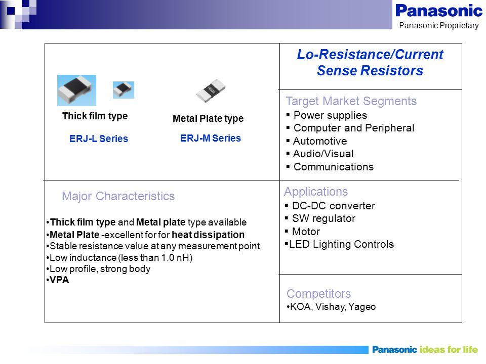 Lo-Resistance/Current Sense Resistors