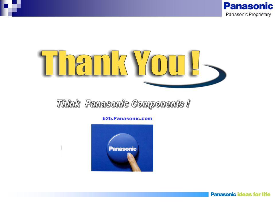 Think Panasonic Components !
