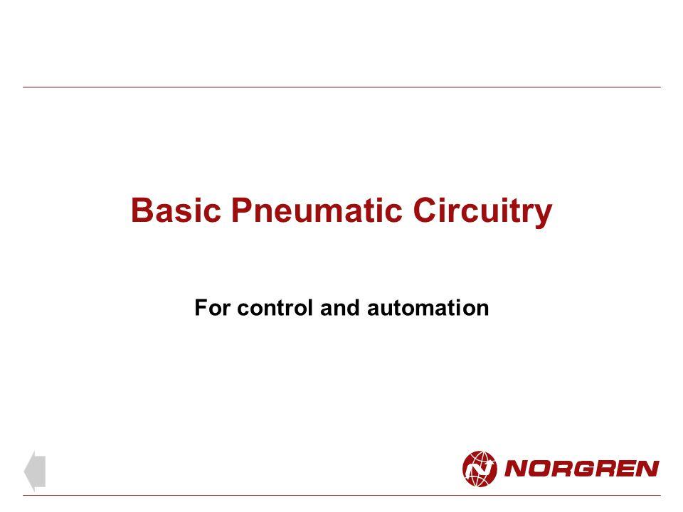 Basic Pneumatic Circuitry