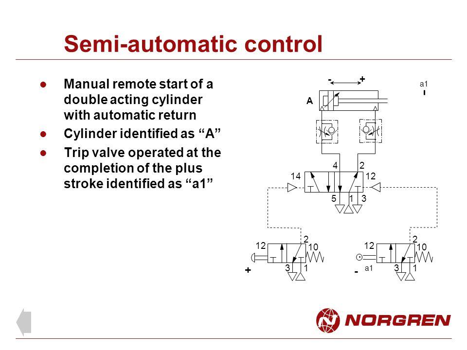 Semi-automatic control