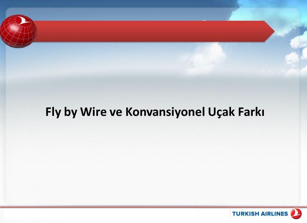 Fly by Wire ve Konvansiyonel Uçak Farkı