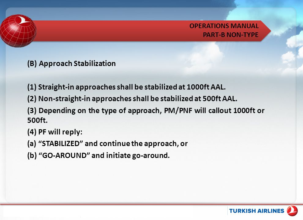 (B) Approach Stabilization