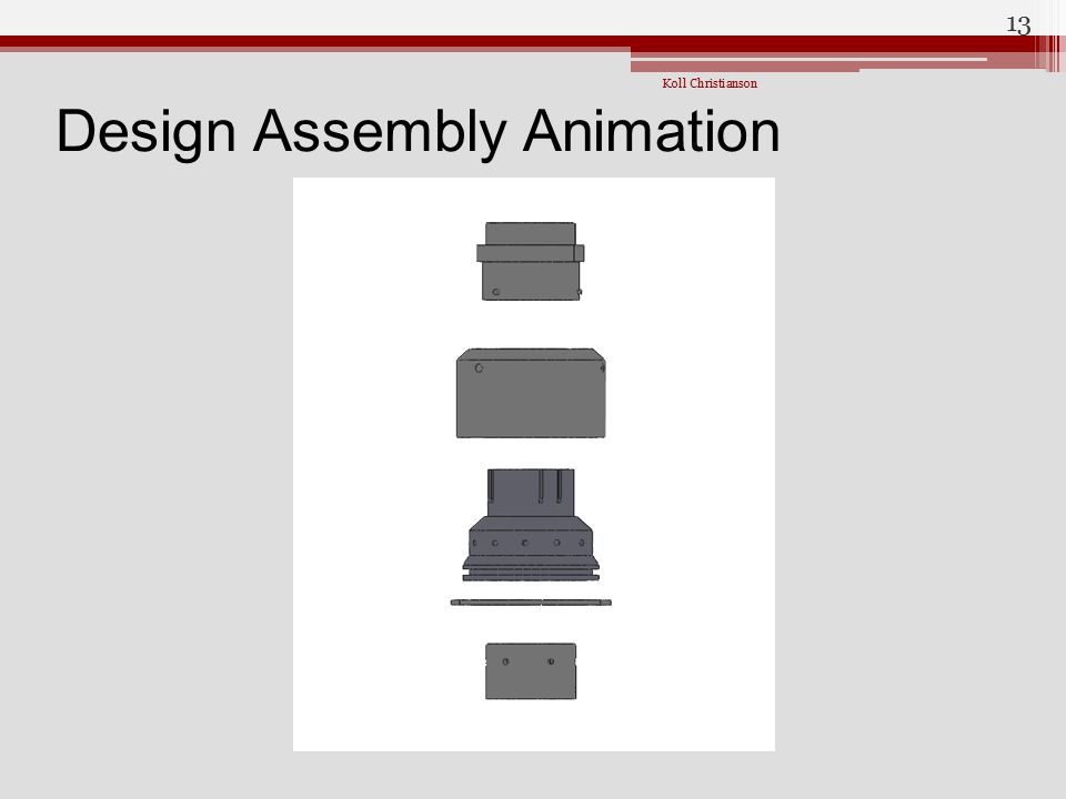 Design Assembly Animation