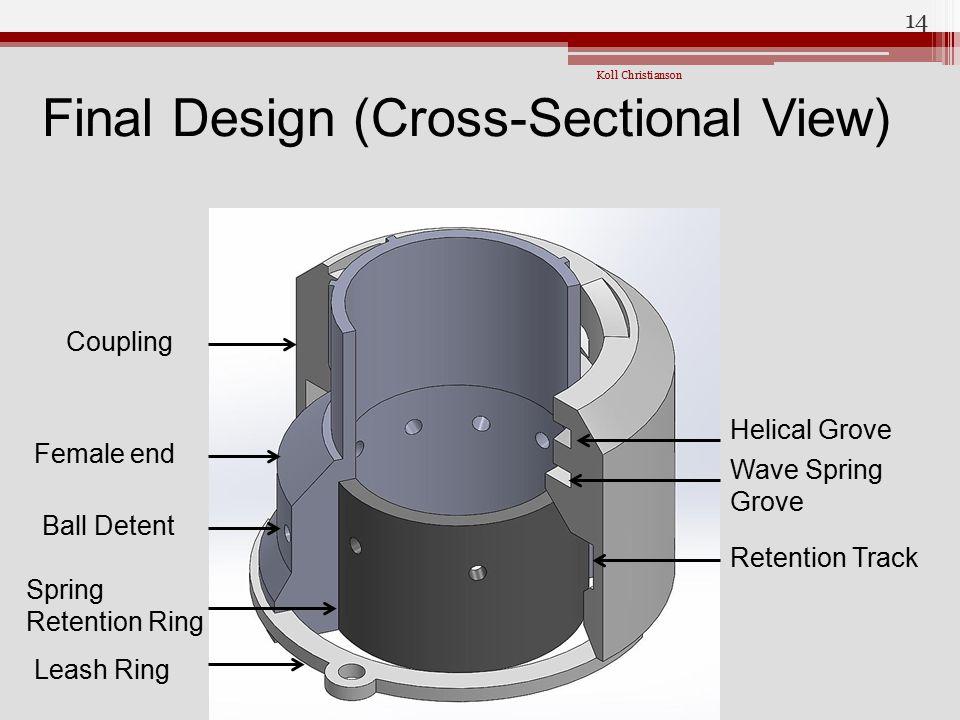 Final Design (Cross-Sectional View)