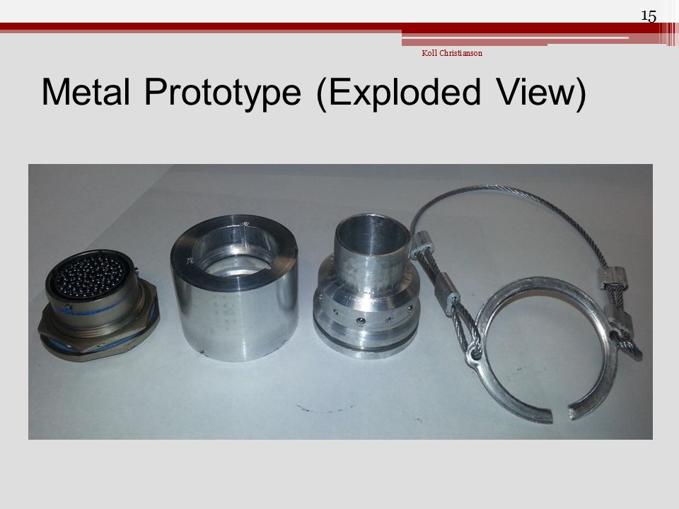 Metal Prototype (Exploded View)