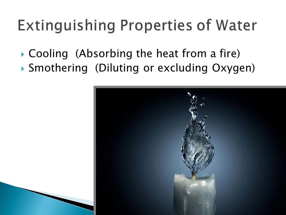 Extinguishing Properties of Water