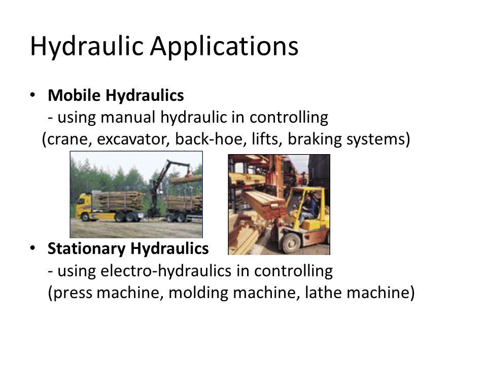 Hydraulic Applications