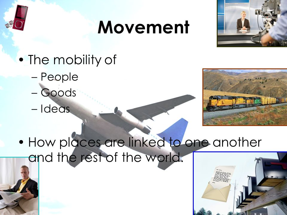Movement The mobility of