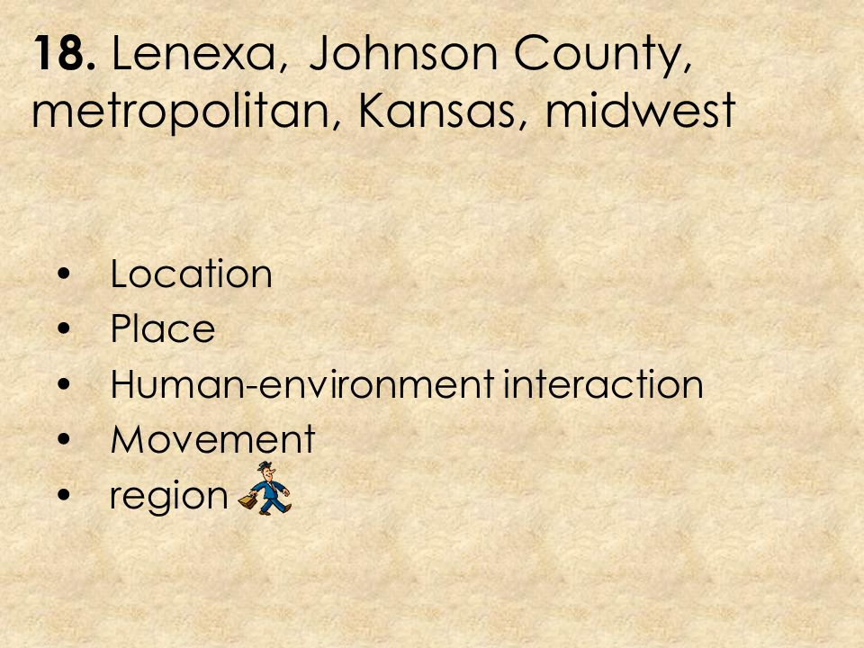 18. Lenexa, Johnson County, metropolitan, Kansas, midwest