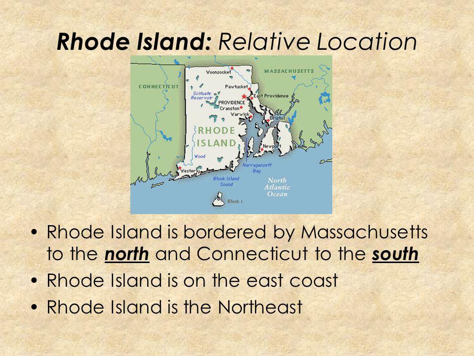 Rhode Island: Relative Location