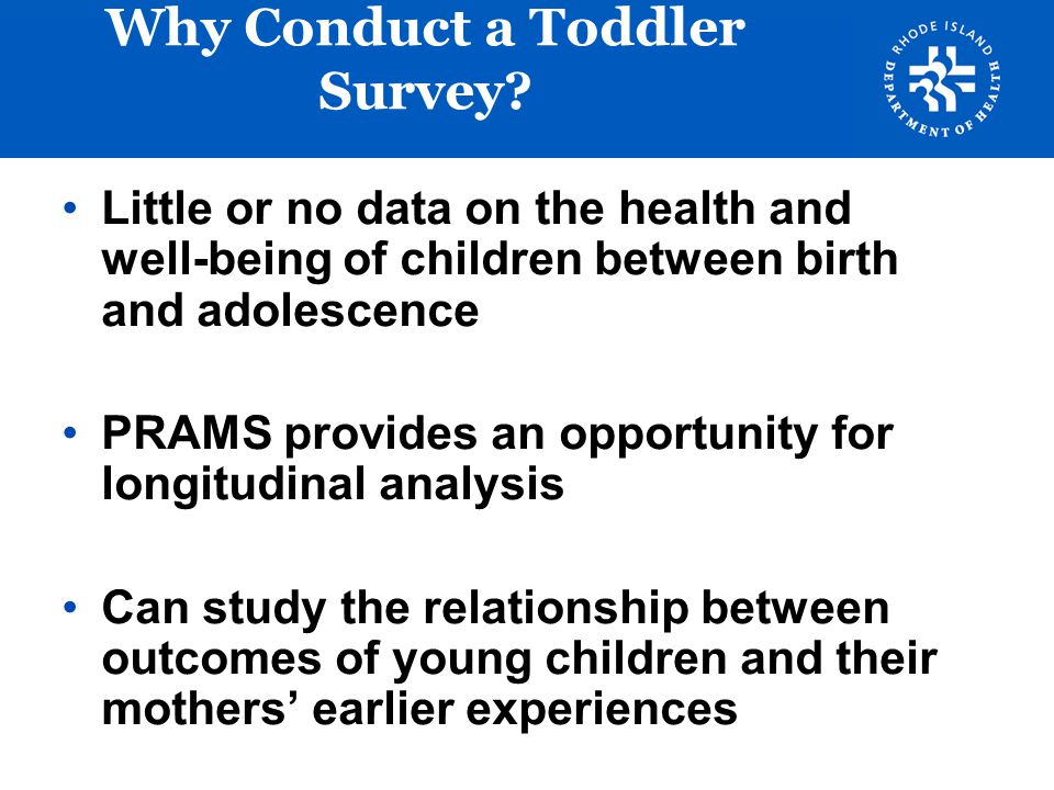 Why Conduct a Toddler Survey
