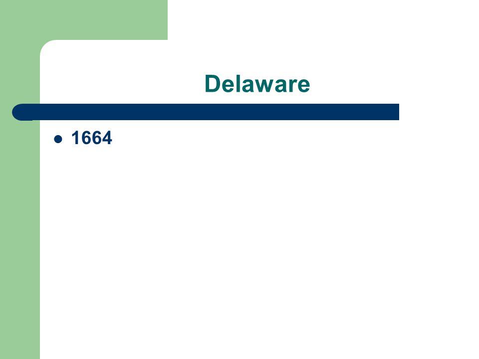 Delaware 1664