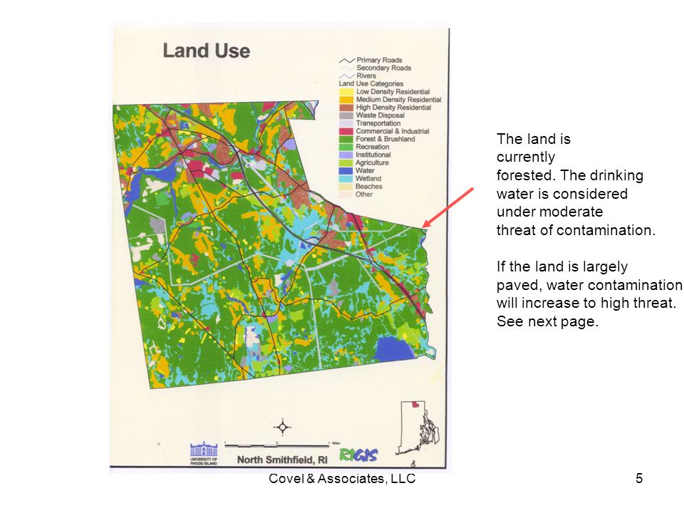 threat of contamination. If the land is largely