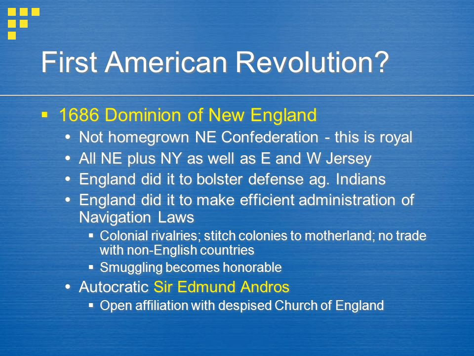 First American Revolution