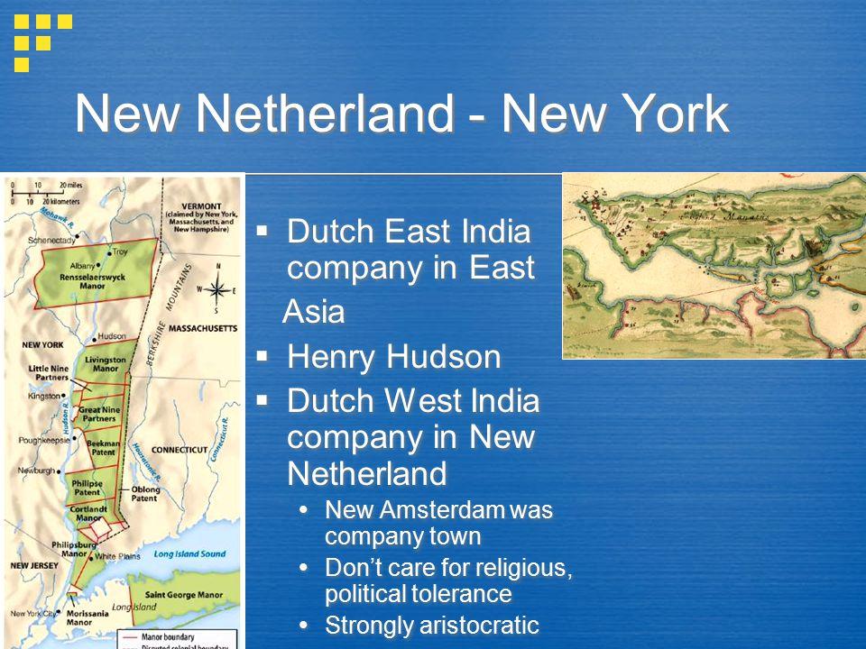 New Netherland - New York