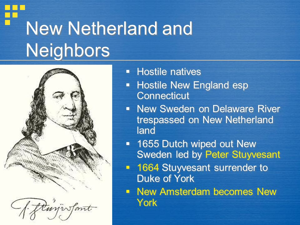 New Netherland and Neighbors