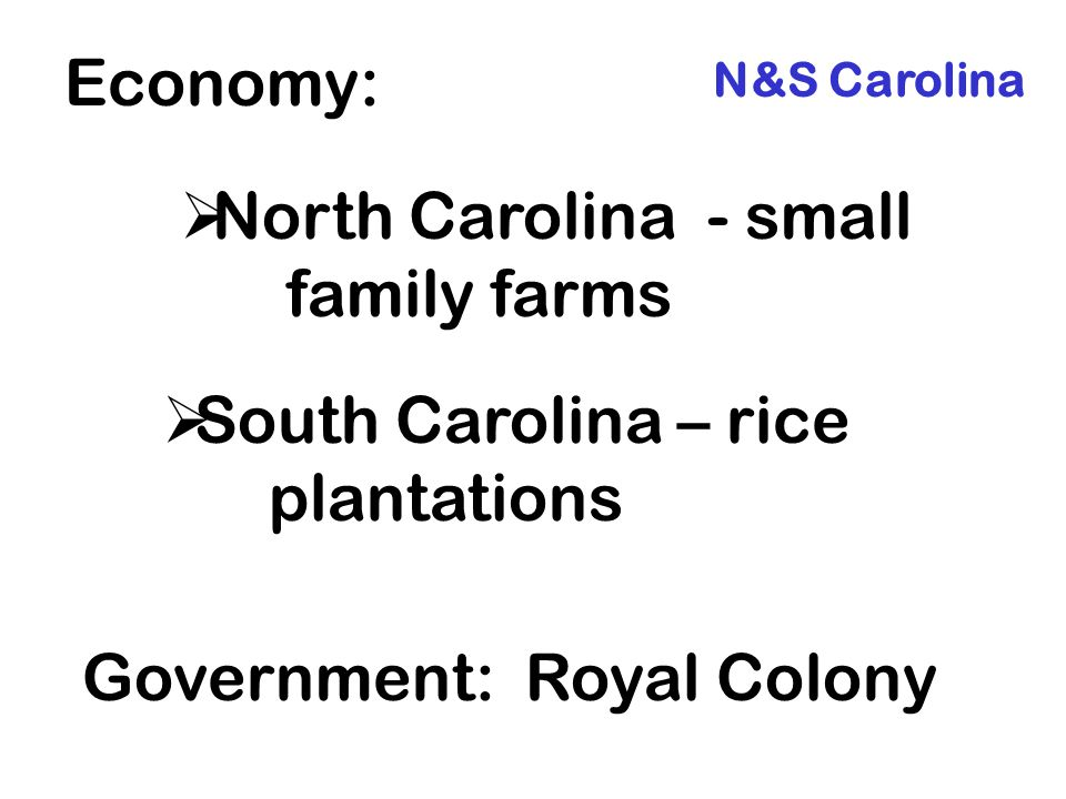 North Carolina - small family farms