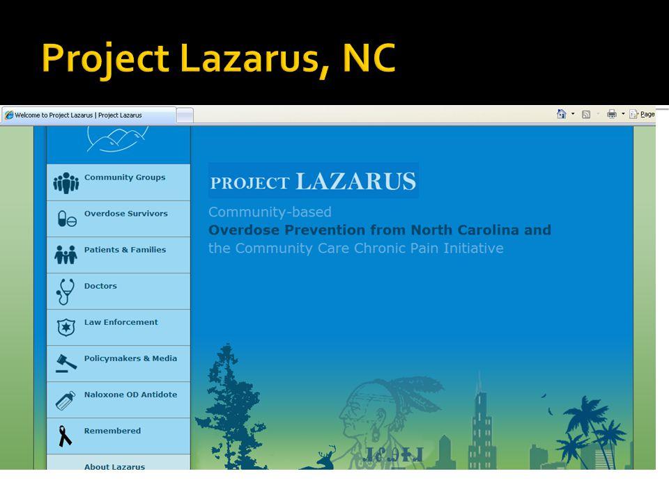 Project Lazarus, NC
