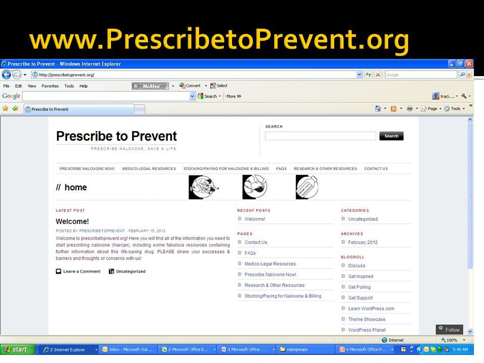 www.PrescribetoPrevent.org