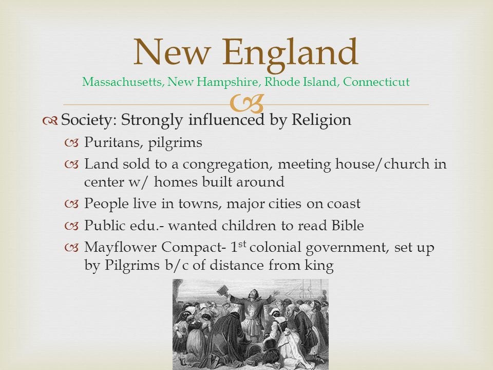 New England Massachusetts, New Hampshire, Rhode Island, Connecticut