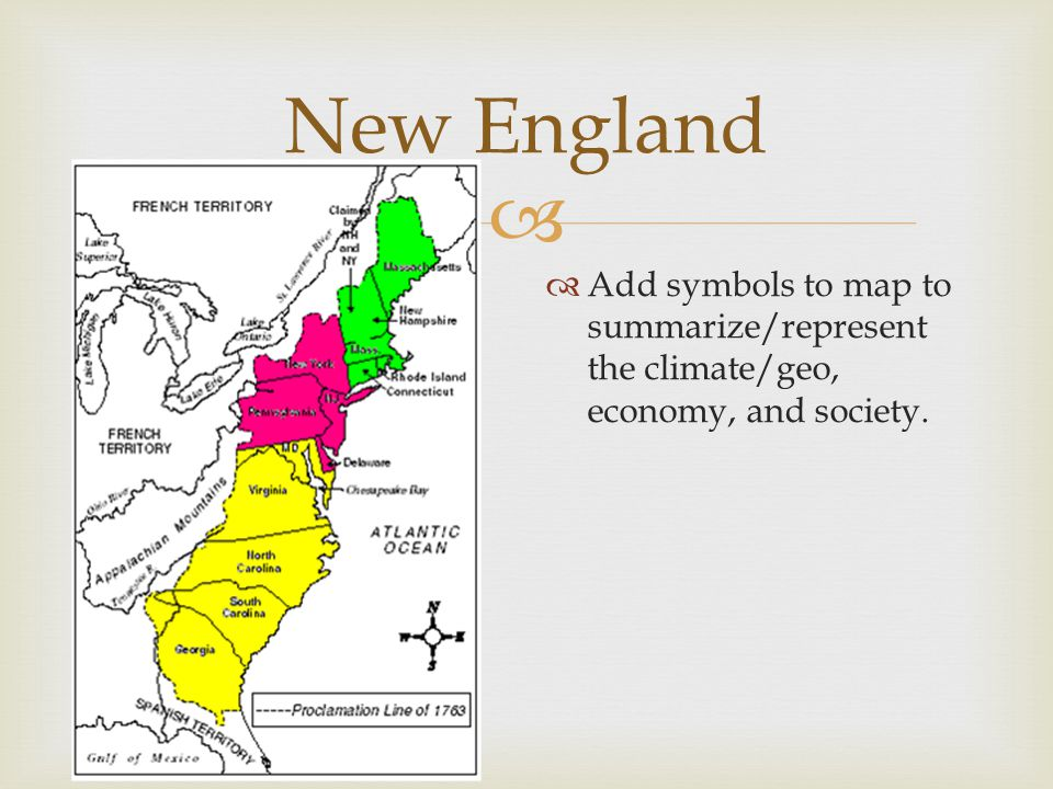ethnic groups in the thirteen colonies When talking about religious diversity, however, it's much more useful to divert our attention to the middle colonies, present-day new york, new jersey, pennsylvania, delaware, and maryland here you find a rich pastiche of religious groups, everything from roman catholics, anglicans, presbyterians, and quakers to dutch reformed.