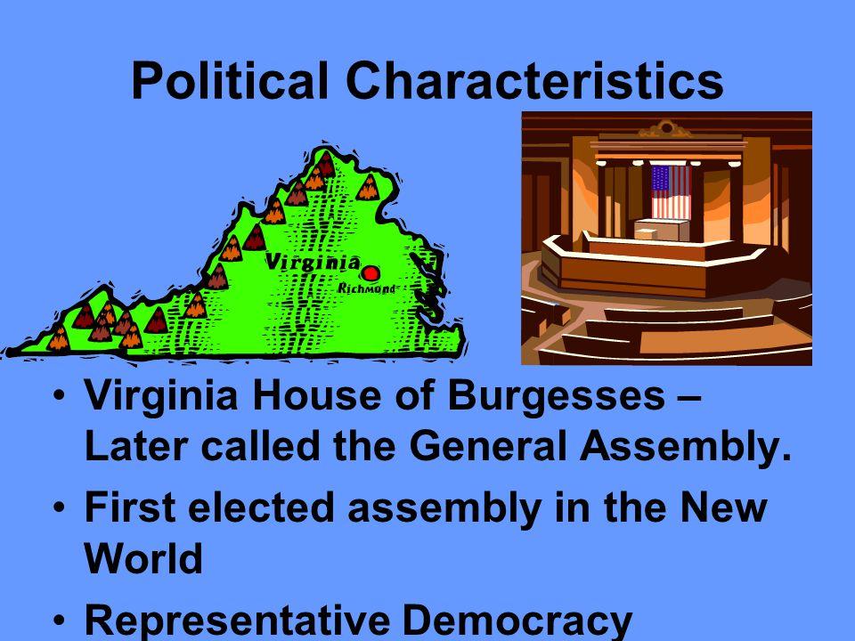 Political Characteristics