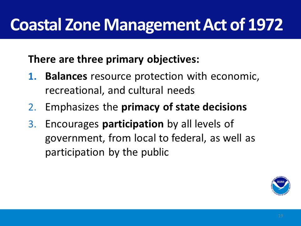 Coastal Zone Management Act of 1972