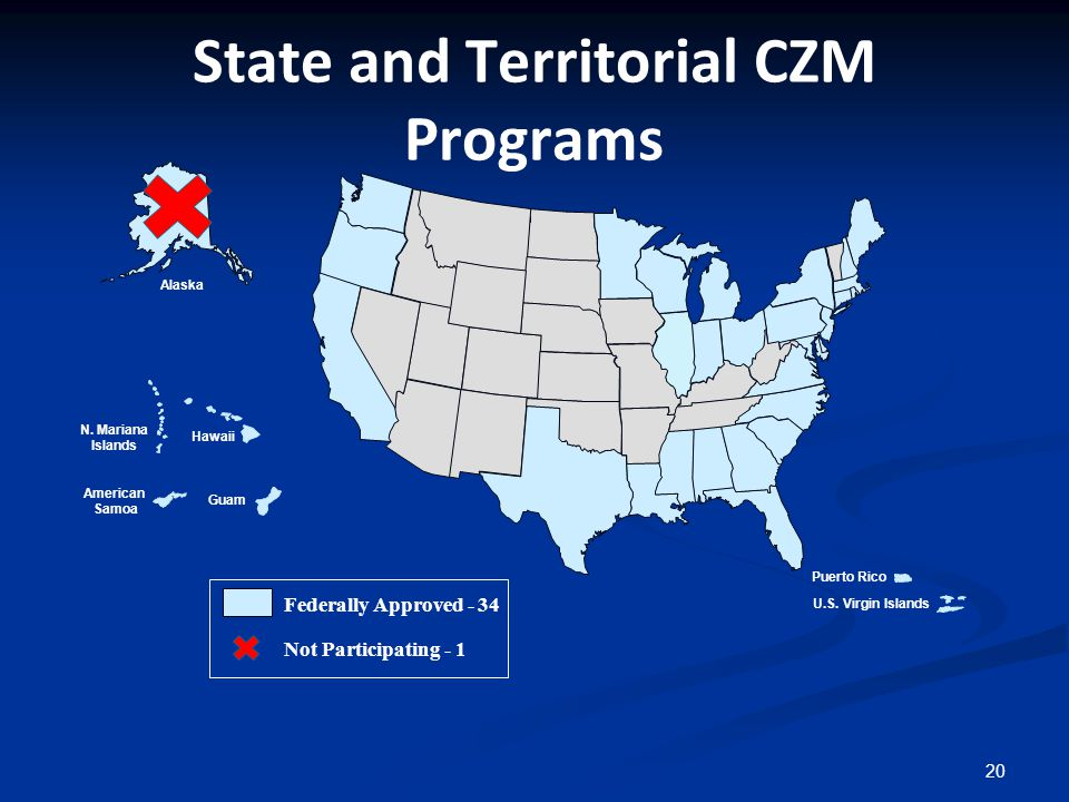 State and Territorial CZM Programs
