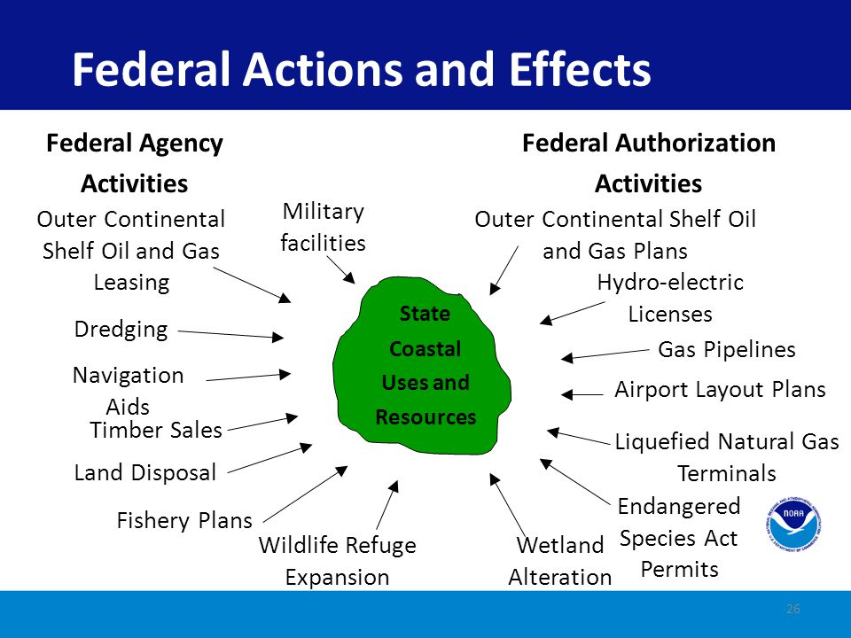 Federal Actions and Effects