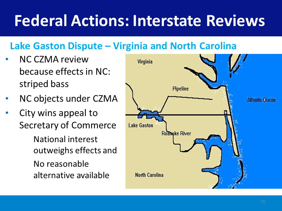 Federal Actions: Interstate Reviews