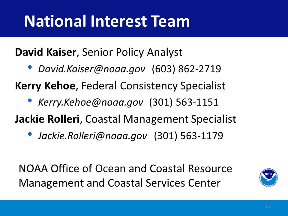National Interest Team