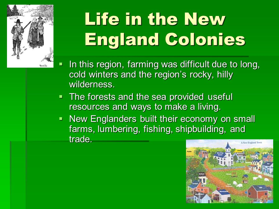 Life in the New England Colonies