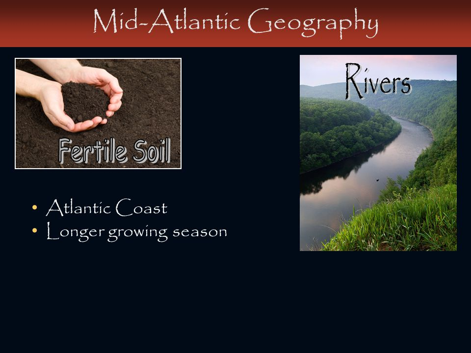 Mid-Atlantic Geography