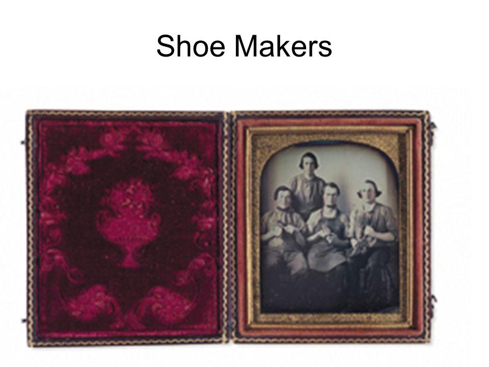 Shoe Makers Daguerreotype of shoemakers
