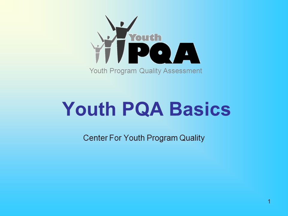 Center For Youth Program Quality