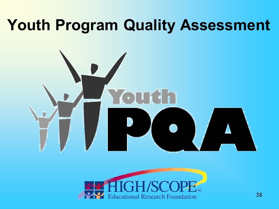 Youth Program Quality Assessment