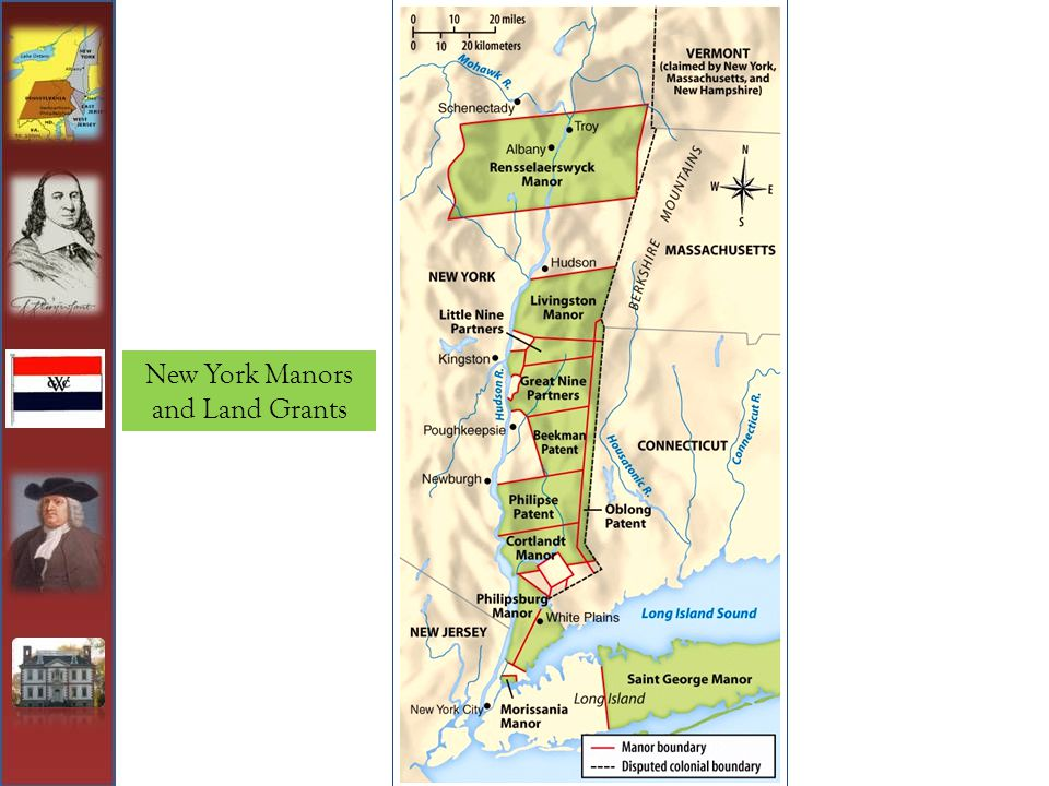 New York Manors and Land Grants