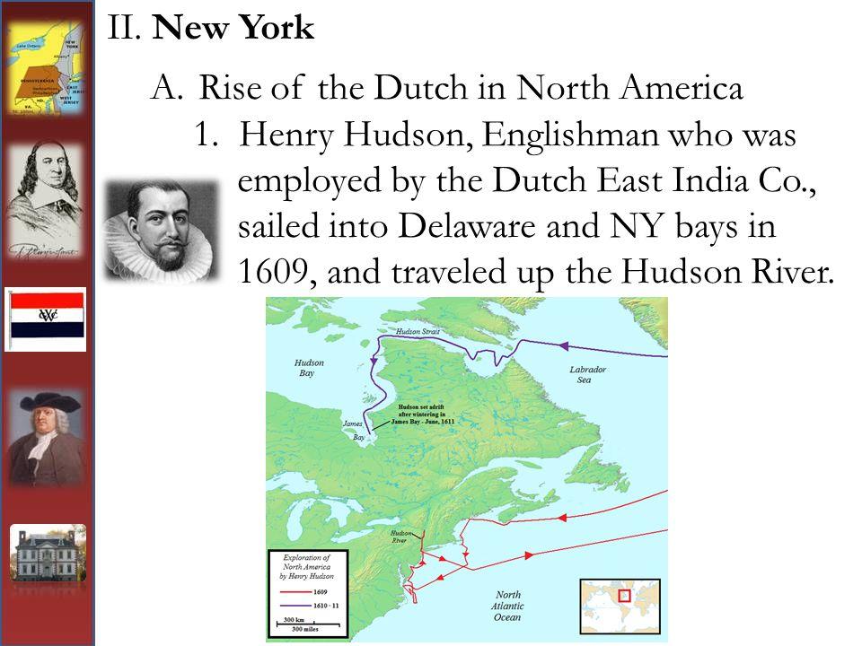 Rise of the Dutch in North America