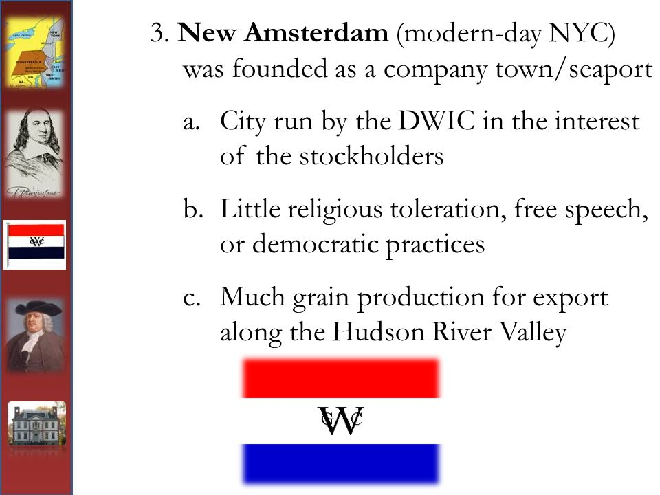 City run by the DWIC in the interest of the stockholders