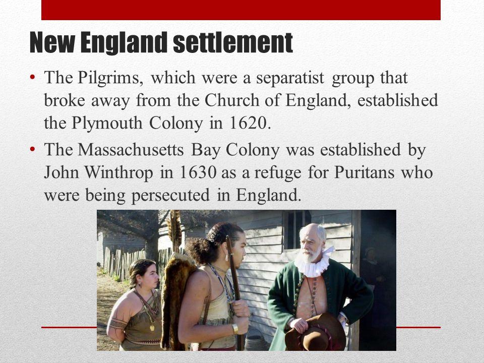 New England settlement