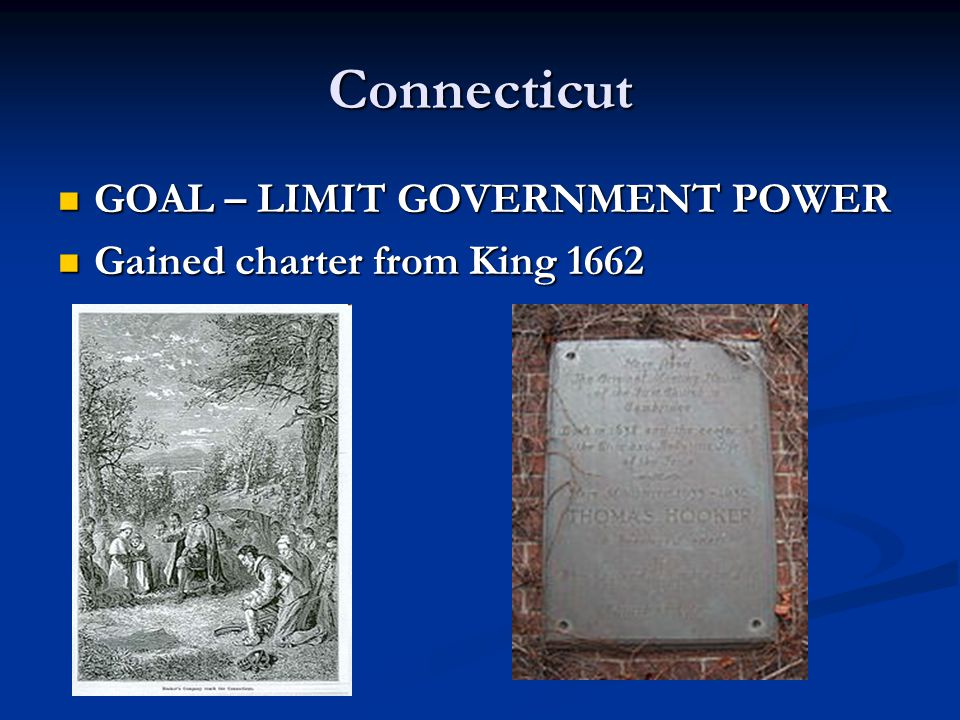 Connecticut GOAL – LIMIT GOVERNMENT POWER