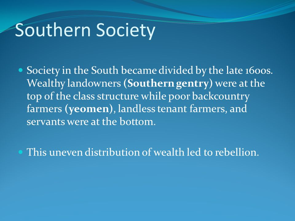 Southern Society