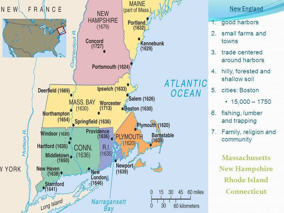 Massachusetts New Hampshire Rhode Island