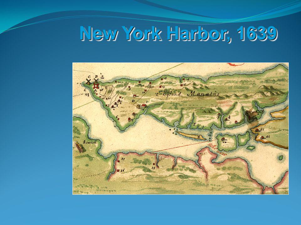 New York Harbor, 1639