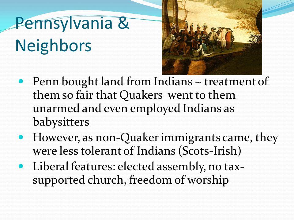 Pennsylvania & Neighbors