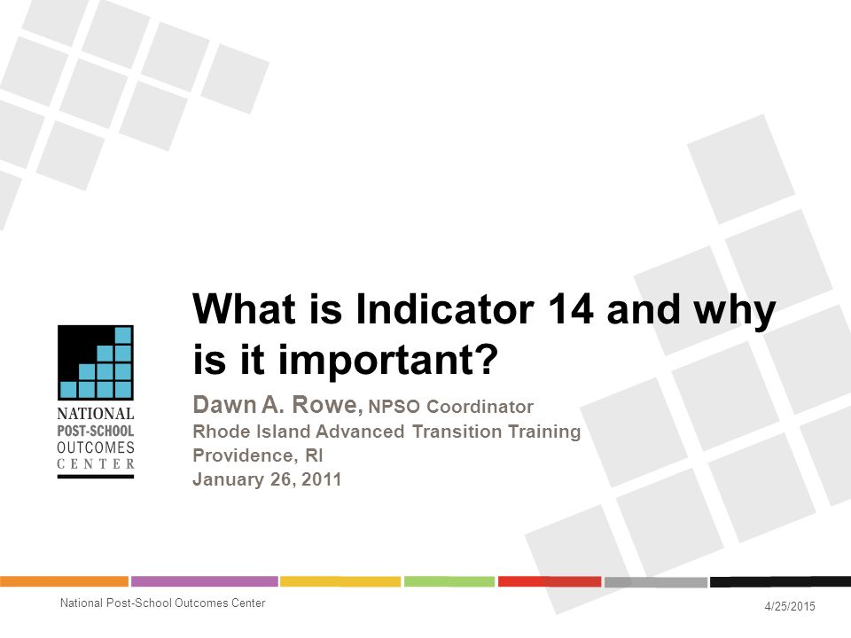 What is Indicator 14 and why is it important