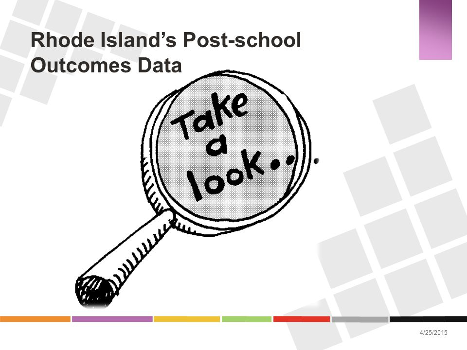 Rhode Island's Post-school Outcomes Data