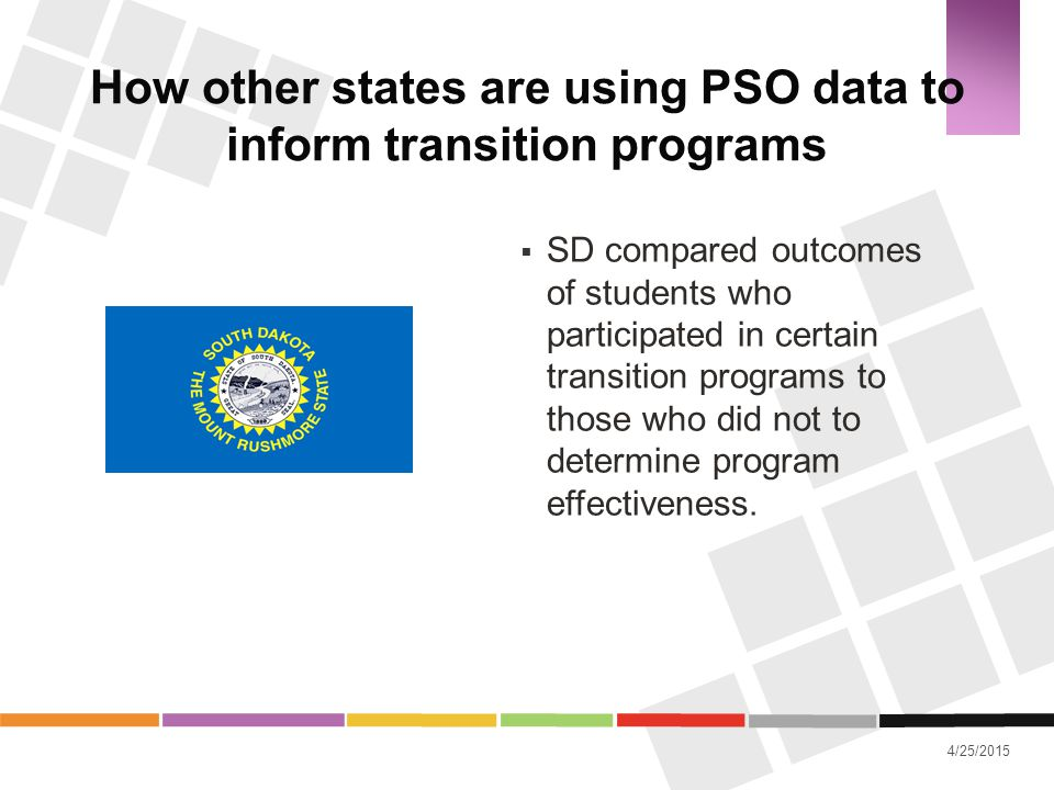 How other states are using PSO data to inform transition programs
