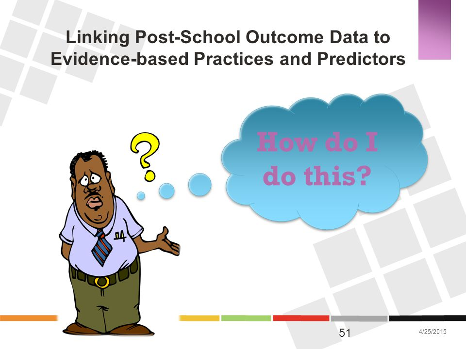 Linking Post-School Outcome Data to Evidence-based Practices and Predictors