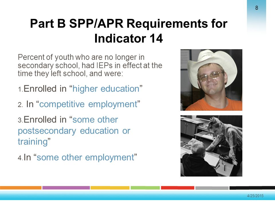 Part B SPP/APR Requirements for Indicator 14